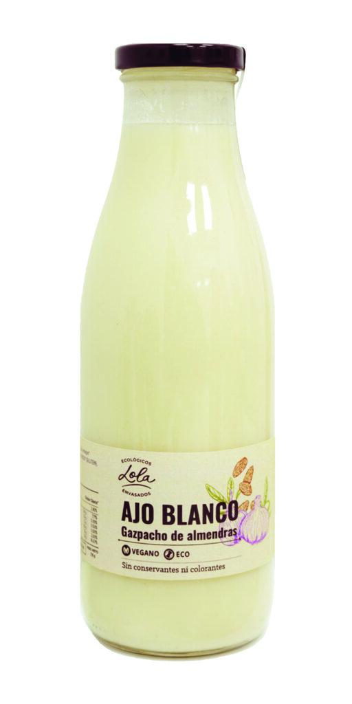 GAZPACHO DEL ALMENDRAS / AJOBLANCO (ECO-BIO)
