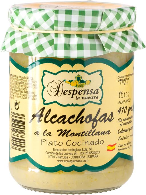 alcachofas montillana