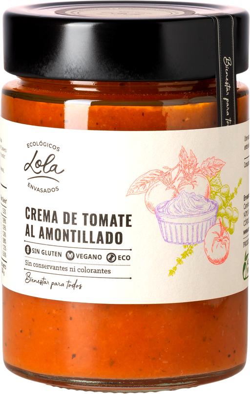 Crema de tomate al amontillado (ECO – BIO)