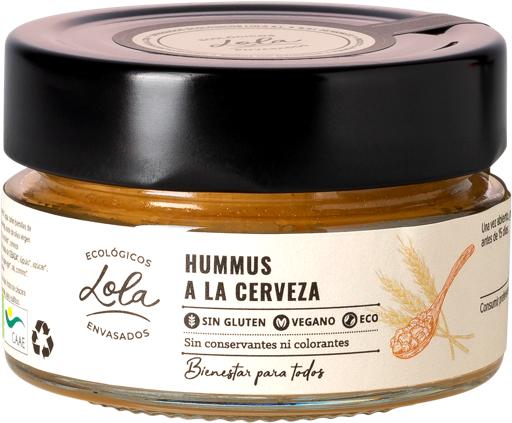 Hummus a la cerveza (ECO – BIO)