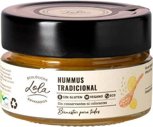 Hummus tradicional (ECO -BIO)