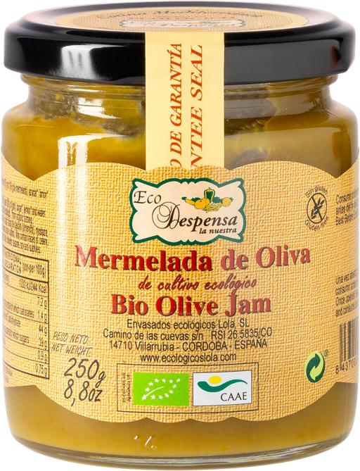 Mermelada de oliva (ECO – BIO)