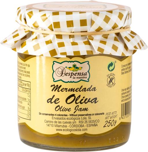 mermelada oliva