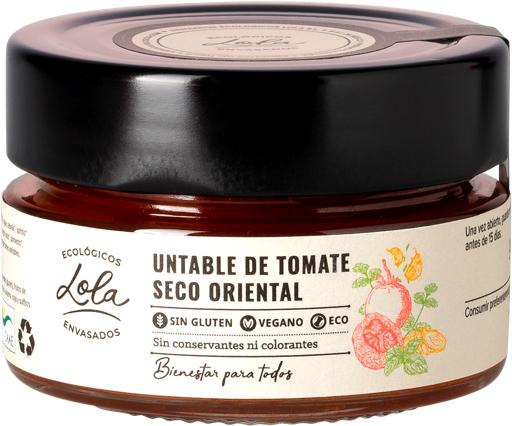 Untable de tomate seco oriental (ECO – BIO)